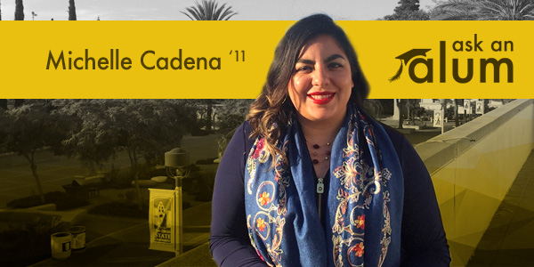 CBB alumna Michelle Cadena