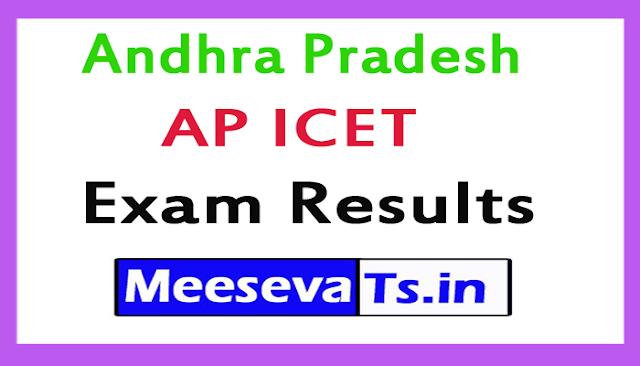 Andhra Pradesh AP ICET Exam Results 2018