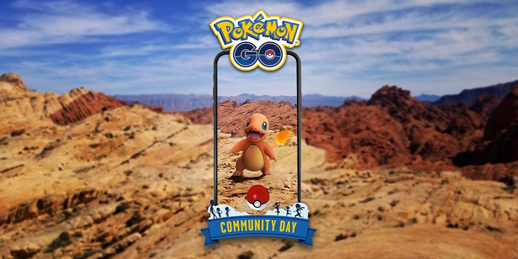 Pokémon GO Charmander Dia Comunitário