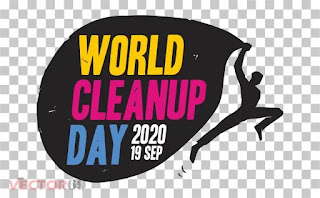 Logo World Cleanup Day (WCD) 2020 - Download Vector File PNG (Portable Network Graphics)