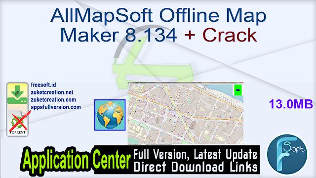 AllMapSoft Offline Map Maker 8.134 + Crack