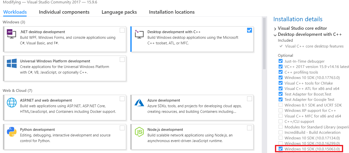 Setting up CUDA environment in Visual Studio 2017