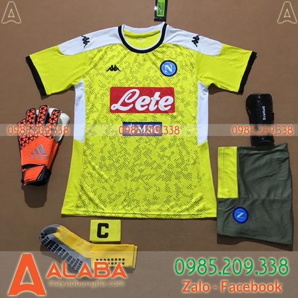 Áo Napoli 2020 Training 1 Màu Vàng