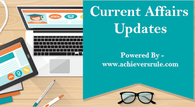 Current Affairs Update - 15th September 2017
