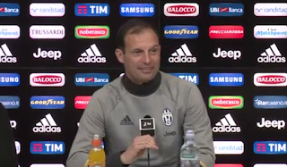 Serie A, Juventus, Chievo, Massimiliano Allegri, conferenze stampa,