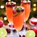 Christmas Mimosas #mimosas #drink #christmas #easy #recipes