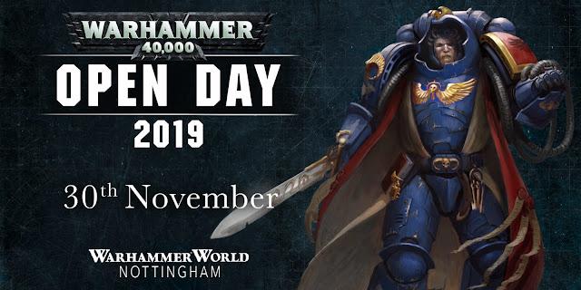 Warhammer 40,000 Open Day 2019