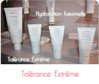 tolérance extrême d'avene
