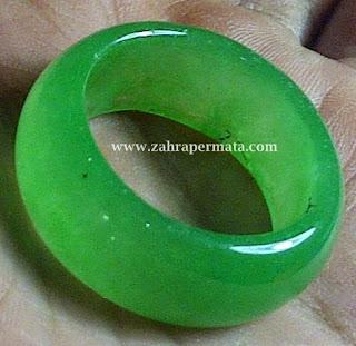 Cincin Giok Jadeite Jade - ZP 282