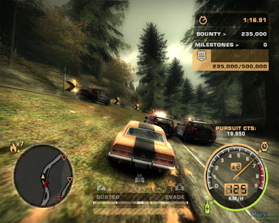 Download Game Need for Speed Most Wanted Black Edition PC