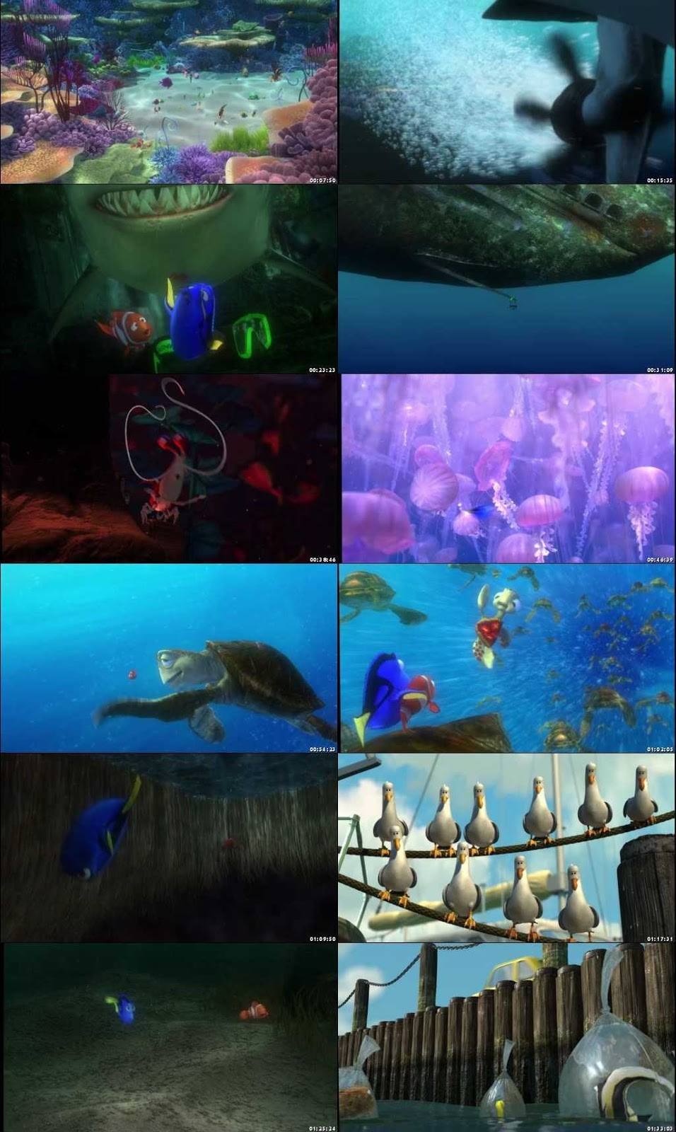 Finding Nemo 2003 screenshot