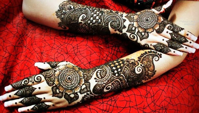 Arabic Mehandi Designs For Hands