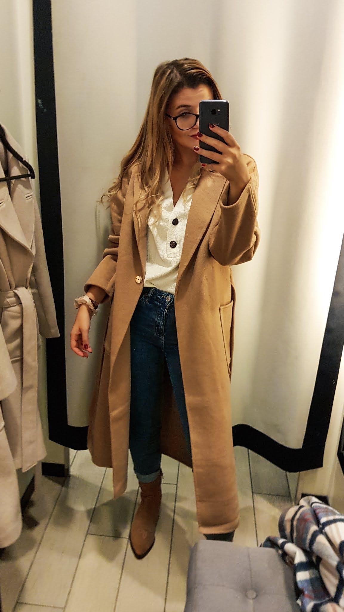 Płaszcz Mohito jesień 2020 . Wełniany płaszcz gdzie kupić