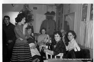 Photo ancienne Noël et Réveillons.
