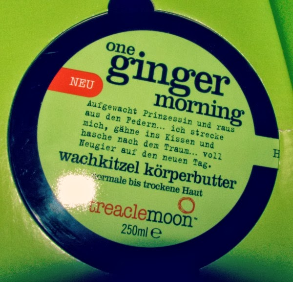 "treaclemoon ""one ginger morning"" body butter butter"