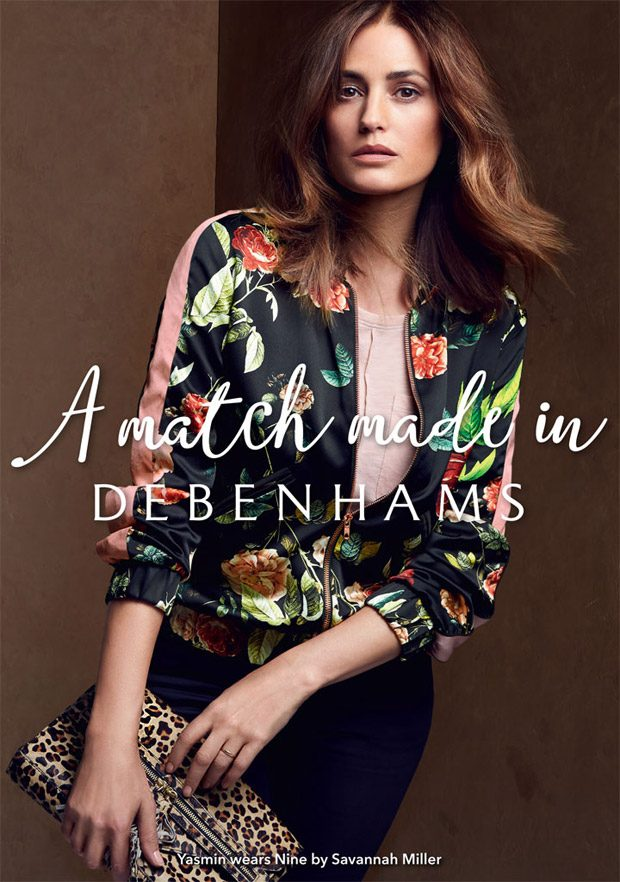 Debenhams Fall/Winter 2016 Campaign featuring Yasmin Le Bon