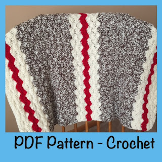 sock monkey blanket crochet