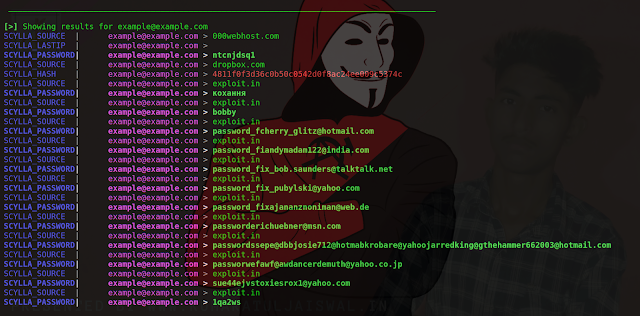 Password Breach Hunting & Email OSINT tool