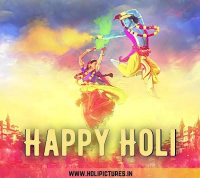 Radha Krishna Holi Images HD download