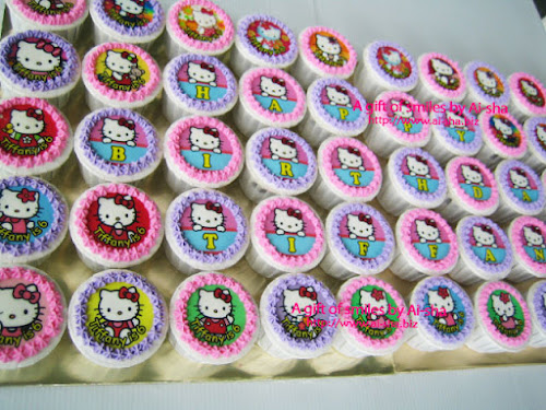 Edible Image Cupcake Hello Kitty