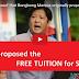 Bongbong Marcos ang utak ngFree Tuition Fee, hindi si Bam Aquino