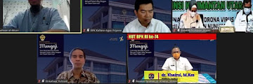 Wali Kota Mengikuti Kegiatan BPK Kaltara Mengaji secara Virtual