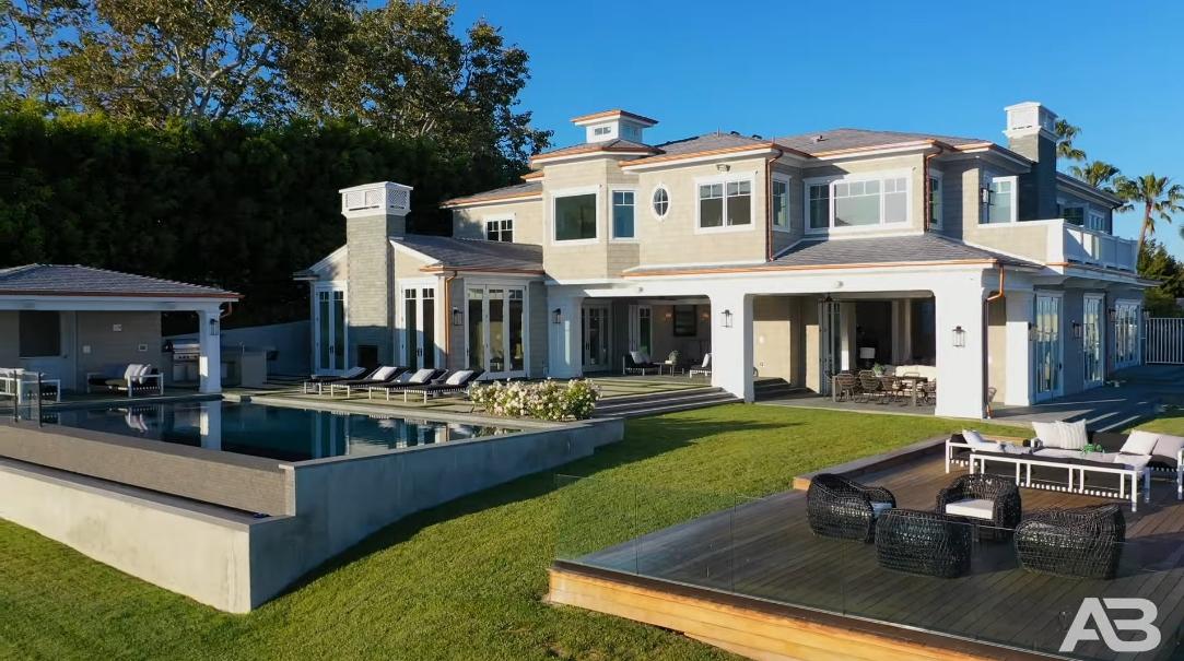 63 Interior Design Photos vs. 815 Paseo Miramar, Pacific Palisades, CA Ultra Luxury Mansion Tour