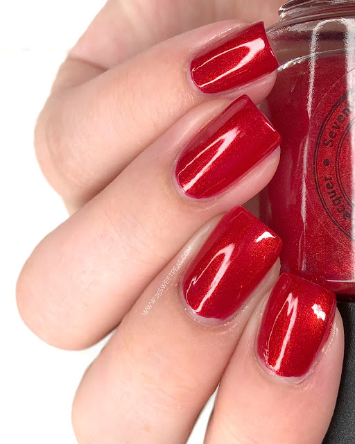 Seventy Seven Nail Lacquer Stays in Vegas 25 Sweetpeas