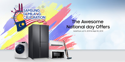 Samsung Gemilang Celebration promotion starting 15 July till 30 September 2019