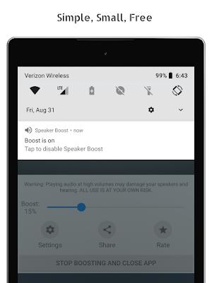 تطبيق Speaker Boost للأندرويد, تنزيل Speaker Boost مدفوع, تحميل Speaker Boost, Speaker Boost apk pro