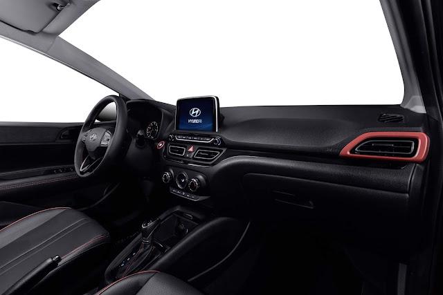 Novo Hyundai HB20X 2020 - interior