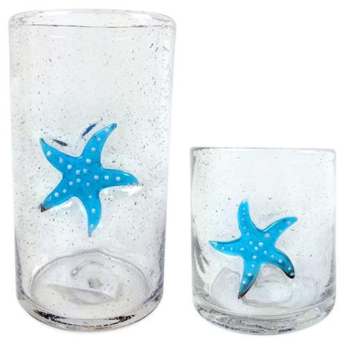 Starfish Drinking Glasses