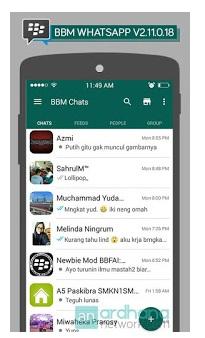 BBM MOd WhatsApp V2.11.0.18