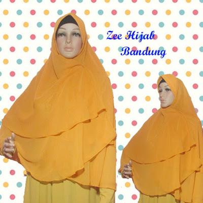 hijab instan zaskia