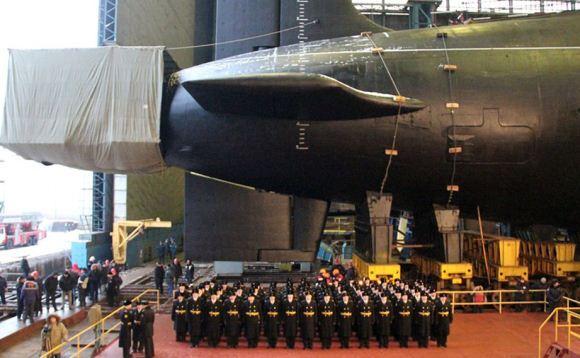 Kapal selam nuklir Vladimir Monomakh