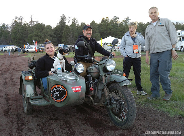 2WD Ural with Astrid and Anthony Sicola