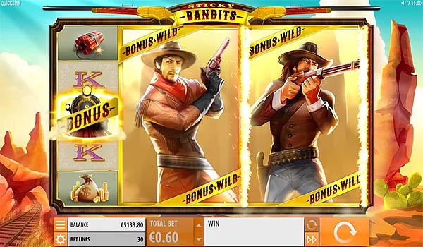 Main Slot Gratis Indonesia - Sticky Bandits (Quickspin)