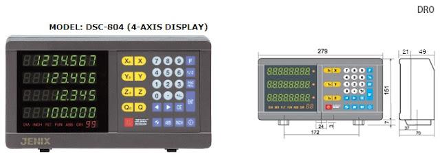 Màn hình LED 4 trục Jenix