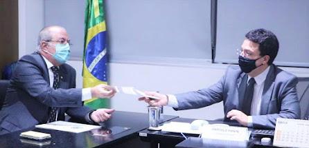 Hildo Rocha vai ao FNDE para solicitar investimentos na educação do Maranhão!!!