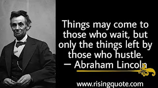 photo of Abraham Lincoln and motivational quote by Abraham Lincoln