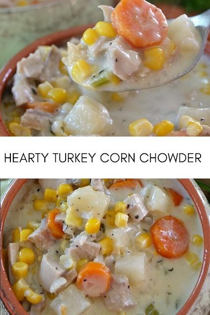 HEARTY TURKEY CORN CHOWDER