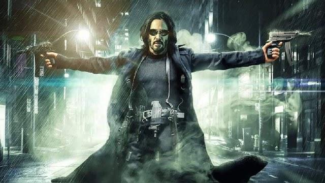 Keanu Reeves sufre un cambio de imagen en el primer tráiler de Matrix 4
