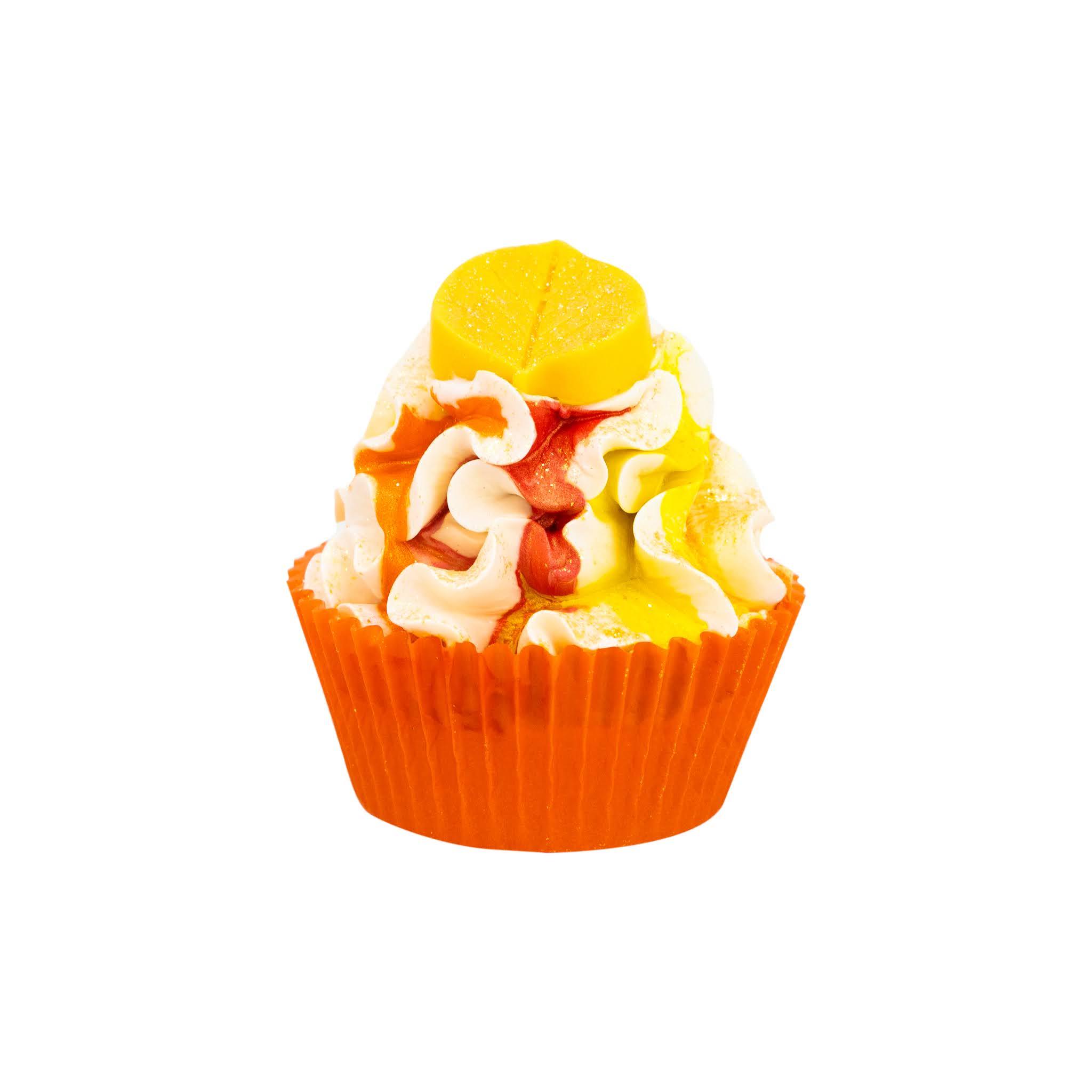 Nectar Bath Treats Peach Cobbler Cupcake Soap