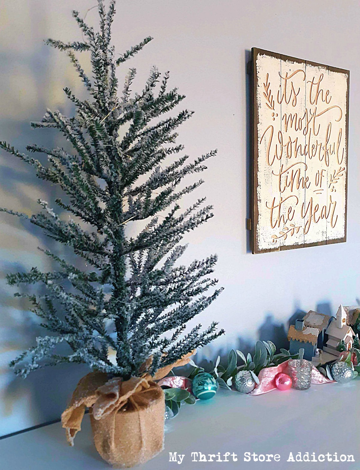 Christmas home tour by My Thrift Store Addiction