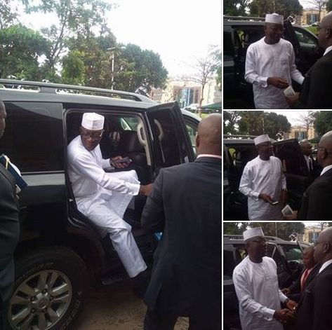 Jibrin delivers his evidence against Dogara & Others to ICPC