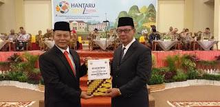 Sekda Provinsi Jambi Jadi Irup HANTARU BPN Kanwil Provinsi Jambi.