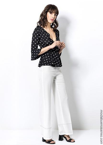 Blusas moda mujer primavera verano 2019. Ropa de mujer moda 2019.