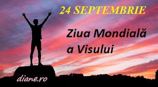 25 septembrie: Ziua Mondială a Visului