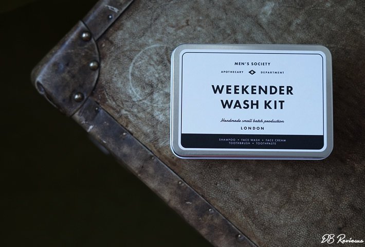 Mens Society Weekender Wash Kit