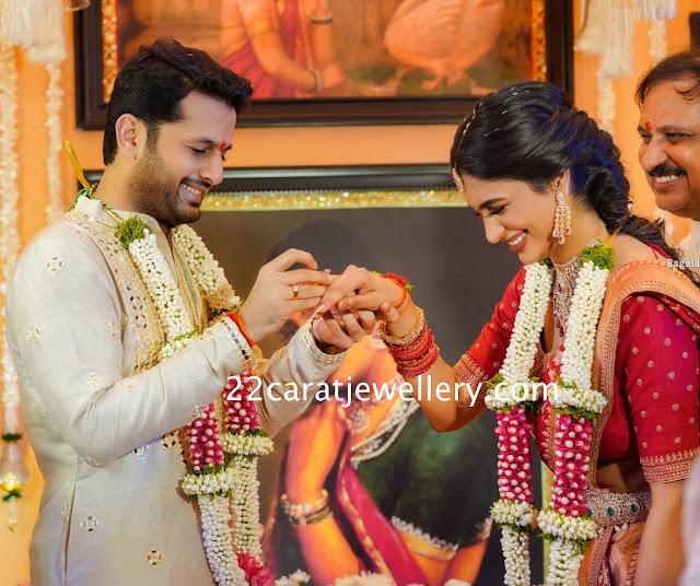 Nithin and Shalini Kandukuri Engagement